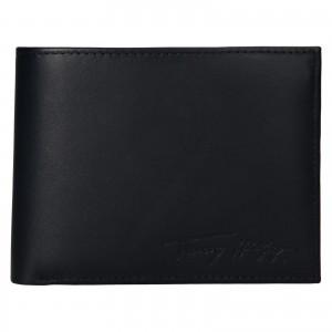 Pánská kožená peněženka Tommy Hilfiger Otto - černá