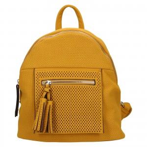 Dámský batoh Suri Frey Ailea - žlutá