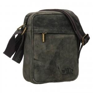 Pánská taška přes rameno Always Wild Filip - černá