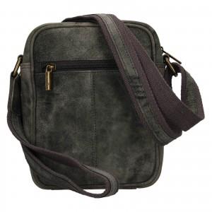 Pánská taška přes rameno Always Wild Mach - černo-šedá