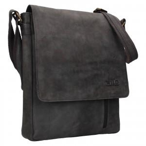 Pánská taška přes rameno Always Wild Knott - černo-šedá