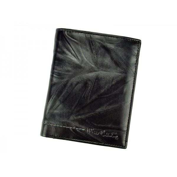 Pánská kožená peněženka Pierre Cardin Andre - černá