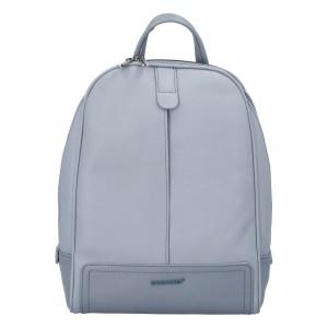 Módní dámský batoh David Jones Maarit - světle modrá