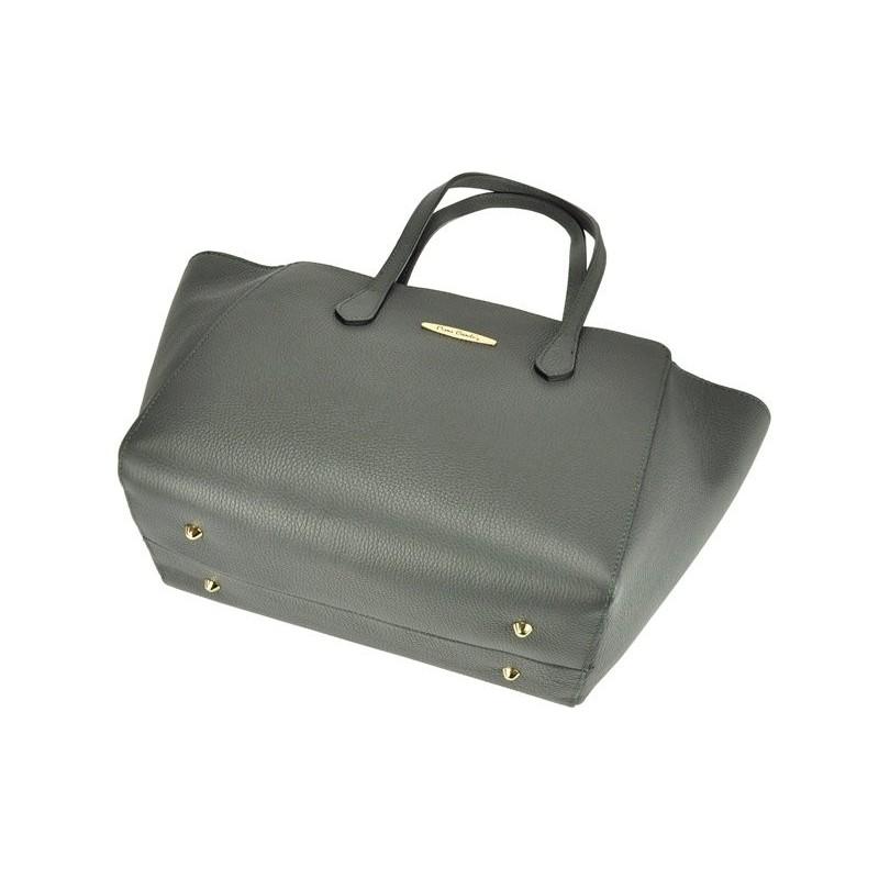 Dámská kožená kabelka Pierre Cardin Emilie - hnědá