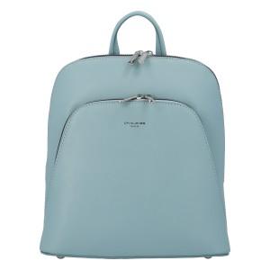 Módní dámský batoh David Jones Venla - světle modrá
