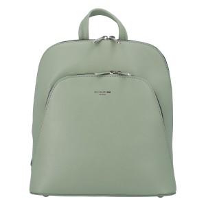 Módní dámský batoh David Jones Venla - světle zelená