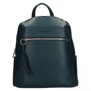 Módní dámský batoh David Jones Sally - modrá