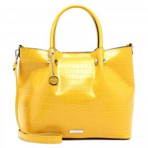 Dámská kabelka Tamaris Christiane - žlutá