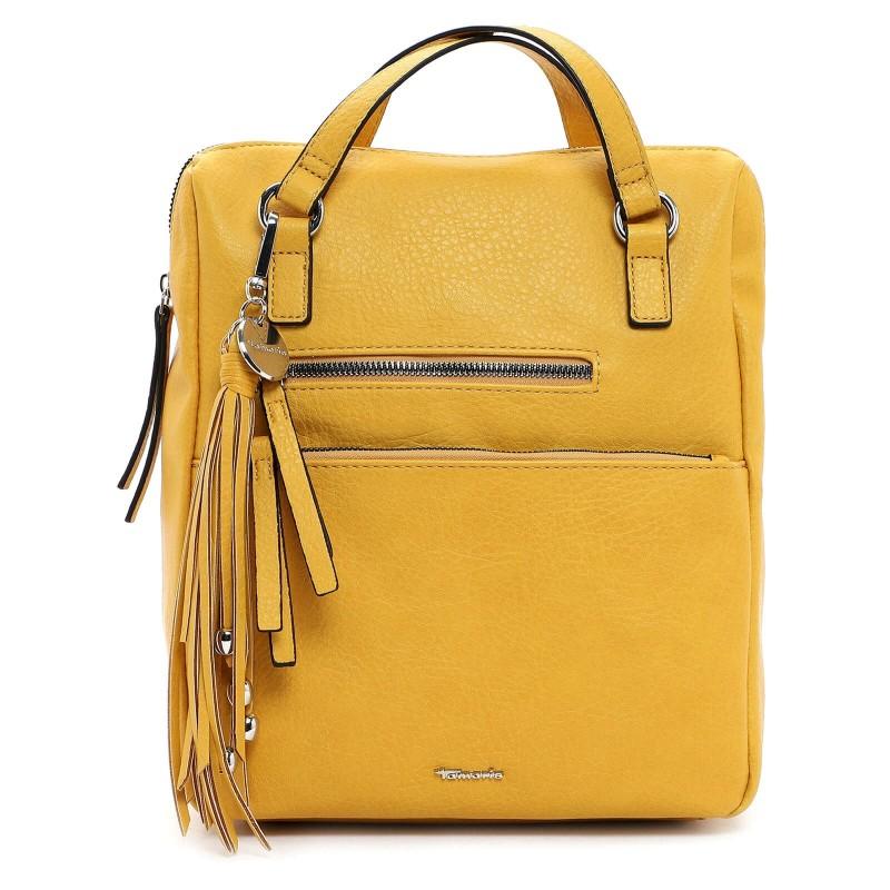 Dámská batůžko-kabelka Tamaris Adole - žlutá
