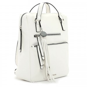 Dámská batůžko-kabelka Tamaris Adole - bílá
