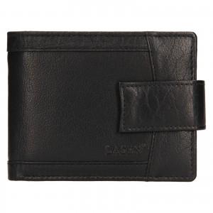 Pánská kožená peněženka Lagen Jacki - černá