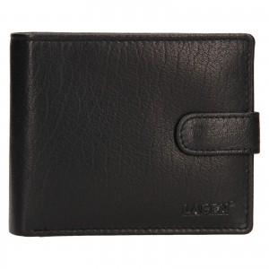 Pánská kožená peněženka Lagen Fredint - černá