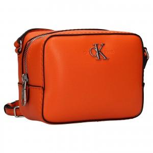 Dámská crossbody kabelka Calvin Klein Stella - oranžová