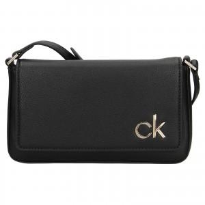Dámská crossbody kabelka Calvin Klein Brian - černá