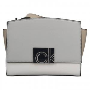 Dámská crossbody kabelka Calvin Klein Lianda - modro-béžová