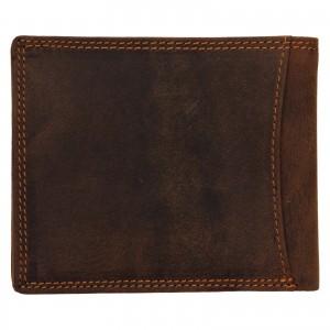 Pánská kožená peněženka Wild Buffalo Huberts - světle hnědá