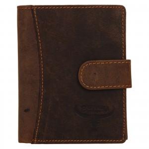 Pánská kožená peněženka Wild Buffalo Horst - světle hnědá