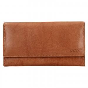 Dámská kožená peněženka Lagen Amalie - koňak
