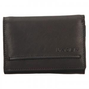 Dámská kožená peněženka Lagen Kateřina - černá