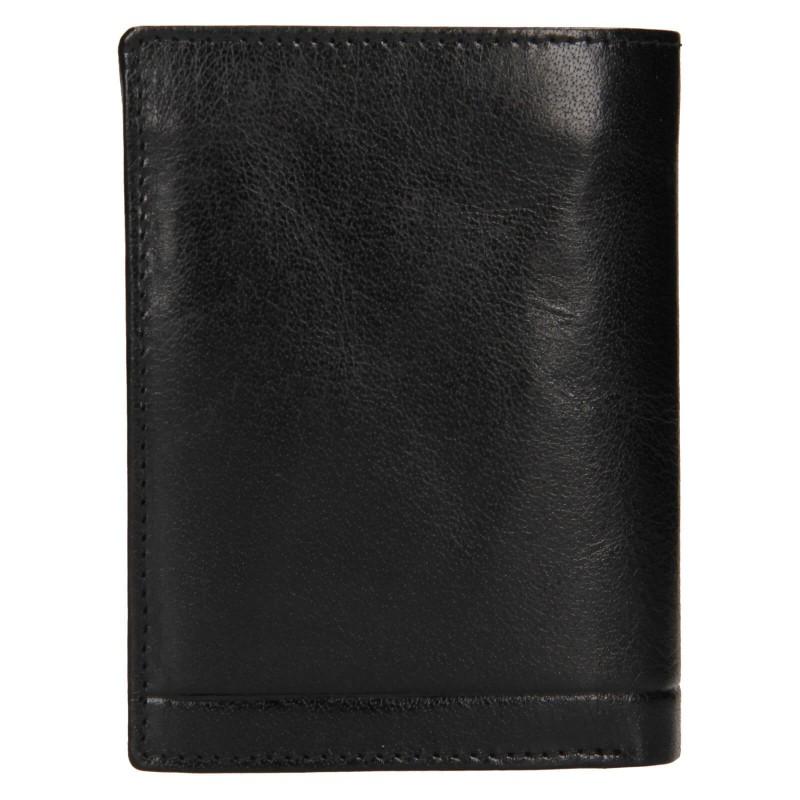 Pánská kožená peněženka Rovicky Lucas - černá