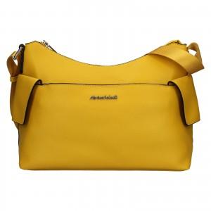 Dámská kabelka Marina Galanti Léa - žlutá