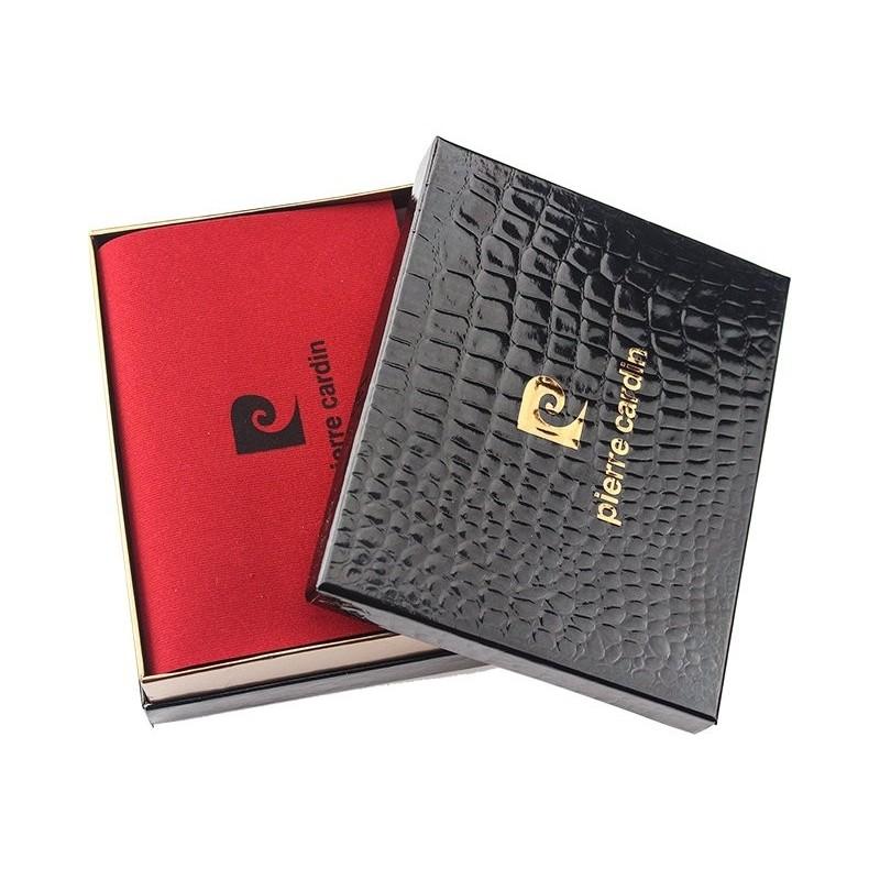 Pánská kožená peněženka Pierre Cardin Polle - černá