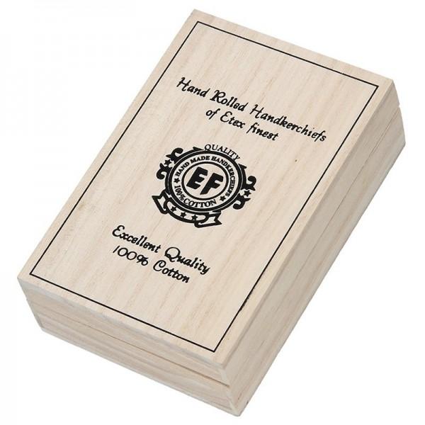 Pánské kapesníky v luxusní sadě ETEX Pedro - bílá