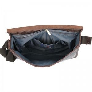 Pánská taška Daag JAZZY WANTED 10 - tmavě hnědá