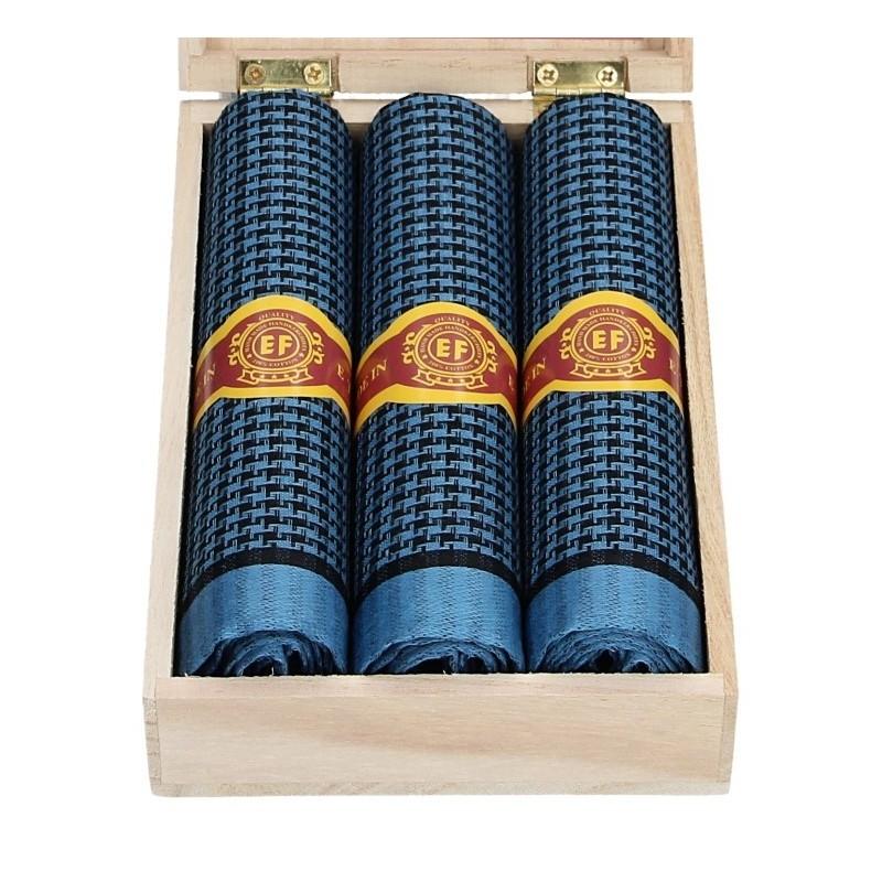 Pánské kapesníky v luxusní sadě ETEX Jayson - modrá