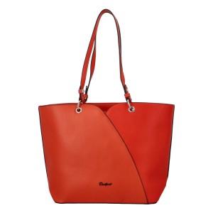 Dámská kabelka David Jones Aline - oranžová