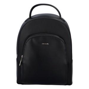 Módní dámský batoh David Jones Milade - černá