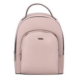 Módní dámský batoh David Jones Milade - růžová