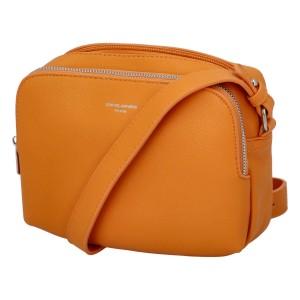 Dámská crossbody kabelka David Jones Berdine - oranžová