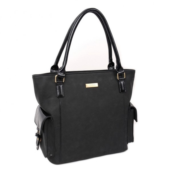 Dámská kabelka Doca 13022 - černá