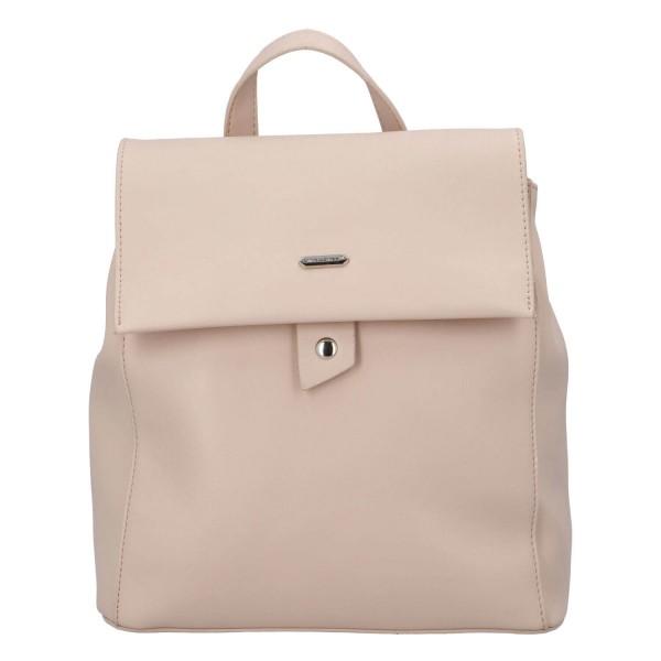 Módní dámský batoh David Jones Dione - růžová