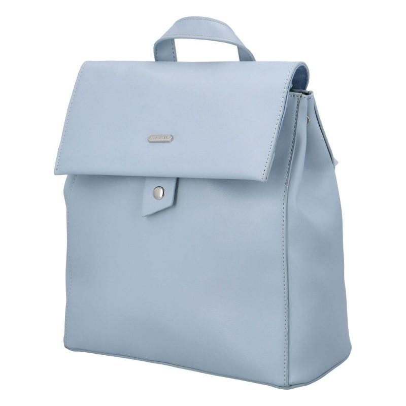 Módní dámský batoh David Jones Dione - modrá