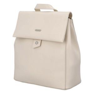 Módní dámský batoh David Jones Dione - béžová