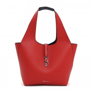 Dámská 2v1 kabelka Tamaris Cordula - červeno-modrá
