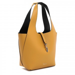 Dámská 2v1 kabelka Tamaris Cordula - žluto-černá