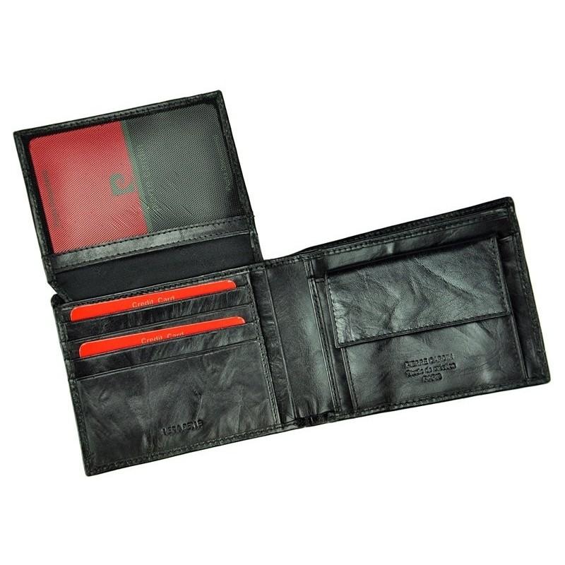 Pánská kožená peněženka Pierre Cardin Kevin - černá
