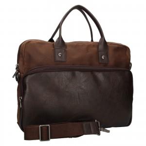 Pánská pracovní taška Lerros Harry - hnědá
