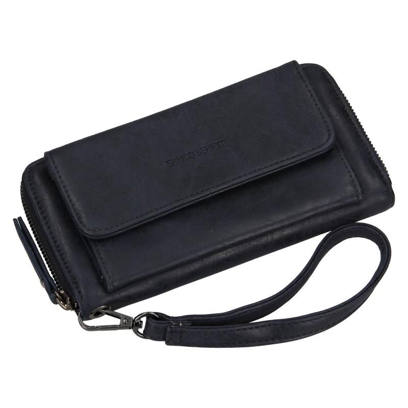 Dámská peněženka Enrico Benetti Stella - tmavě modrá