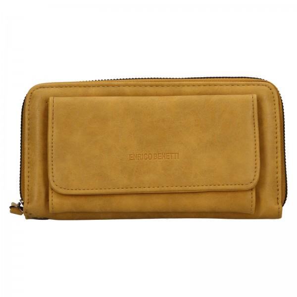 Dámská peněženka Enrico Benetti Stella - žlutá