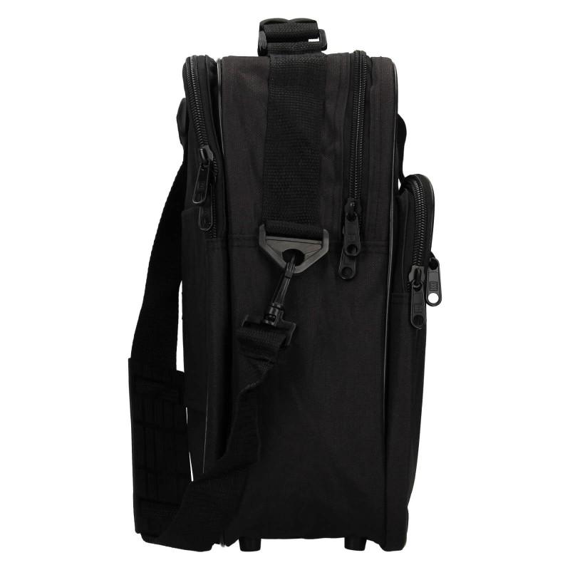 Pánská taška přes rameno Enrico Benetti Jonsen - černá