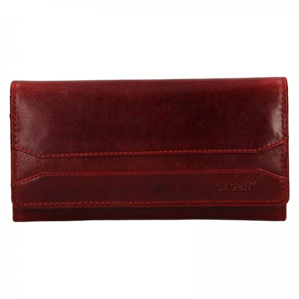 Dámská peněženka Lagen Marion - tmavě červená