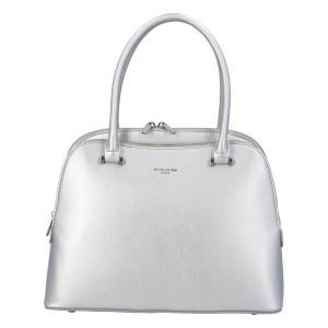 Dámská kabelka David Jones Alicja - stříbrná