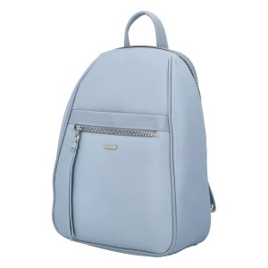 Módní dámský batoh David Jones Izolda - světle modrá