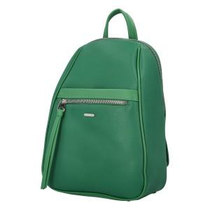 Módní dámský batoh David Jones Izolda - zelená