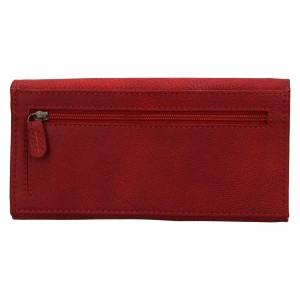 Dámská kožená peněženka Lagen Inge - červená