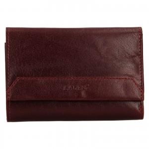 Dámská kožená peněženka Lagen Denisa - vínová